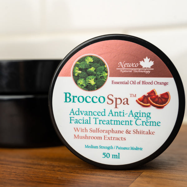 BroccoSpa™ Advanced Anti-Aging Facial Treatment Crème