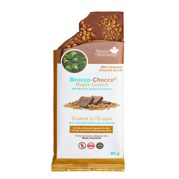 Brocco-Chocco® Milk Maple Crunch Certified Organic