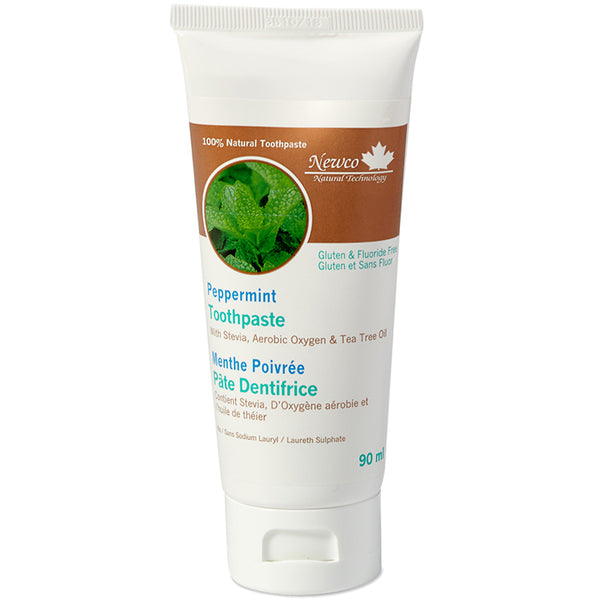 Peppermint Fluoride Free Adult Toothpaste