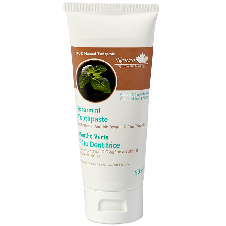 Spearmint Fluoride Free Adult Toothpaste