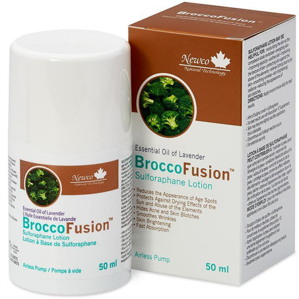 BroccoFusion® Sulforaphane Lotion Lavender | Newco Natural