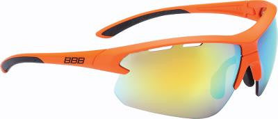 Solbrille BBB Impulse Orange BSG-52 gul/klar og orange MLC