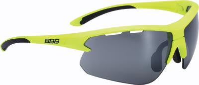 Solbrille BBB Impulse Neon gul BSG-52 gul/klar og PC smoke flash