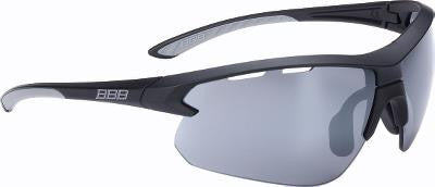 Solbrille BBB Impulse matsort BSG-52 gul/klar og PC smoke flash