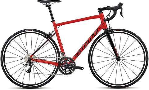 2018 Specialized Allez Gloss Rocket Red/Tarmac Black