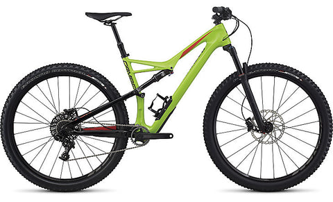 Specialized  Camber Comp Carbon 29- Monster green / Nordic red