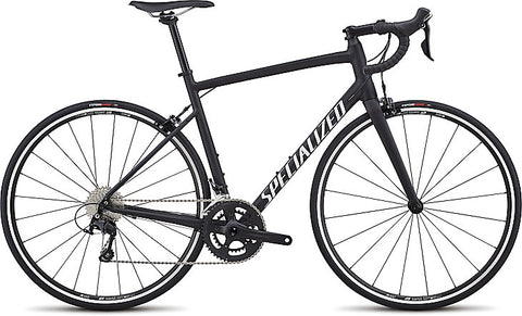 2018 Specialized Allez Elite Satin Black/White Clean