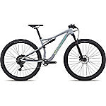 2018 Specialized Women's Epic Comp Alloy Satin Gloss Cool Gray / Cali Fade