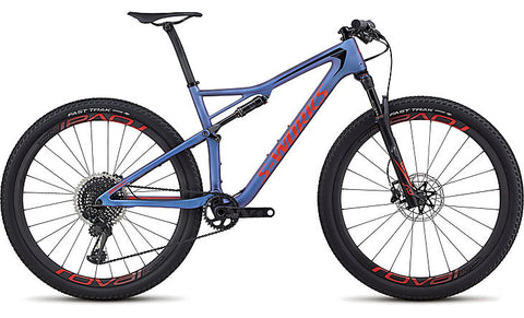 2018 Specialized Men's S-Works Epic XX1 Eagle Satin Gloss Chameleon Purple/Rocket Red/Black