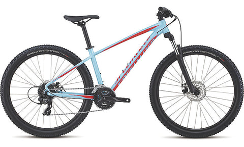2018 Specialized Pitch 27.5 Gloss Light Blue/Rocket Red