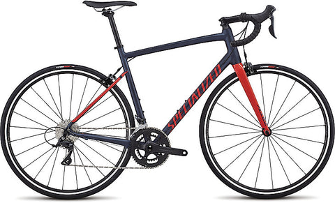 2018 Specialized Allez Sport Satin Navy/Gloss Nordic Red