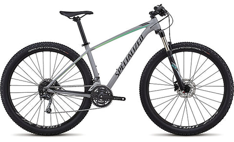 2018 Specialized Women's Rockhopper Expert Satin Gloss Cool Grey/Cali Fade/Tarmac Black