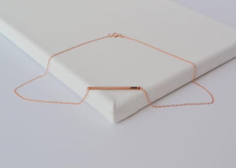 Rose Gold AMÉLIE Necklace