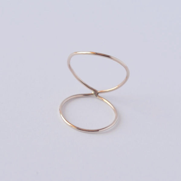 CÉCILE Knuckle Wrap Ring - LOULOUTE