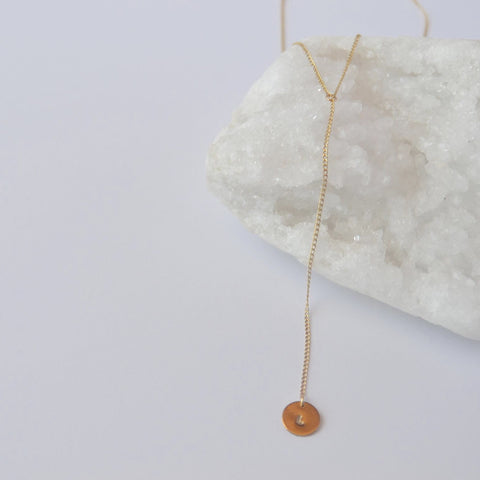 Penelope Lariat Necklace - LOULOUTE