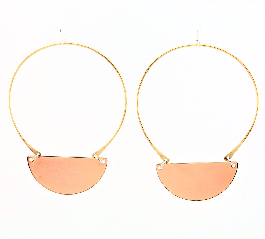 Carak Earrings- Rose Gold