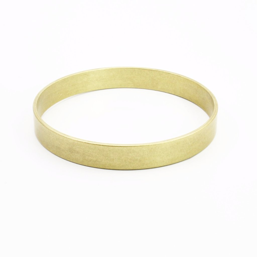 Brass Bangle Bracelet