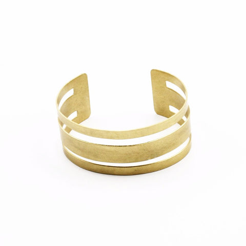 Three Bar Cuff Bracelet