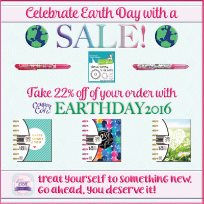Celebrate Earth Day with a SALE!