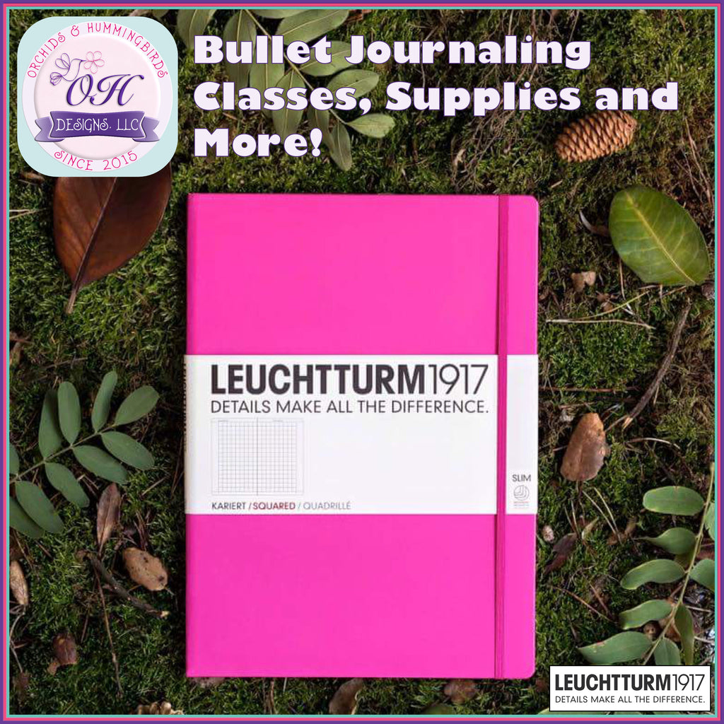 Bullet Journaling Classes, Supplies and More!
