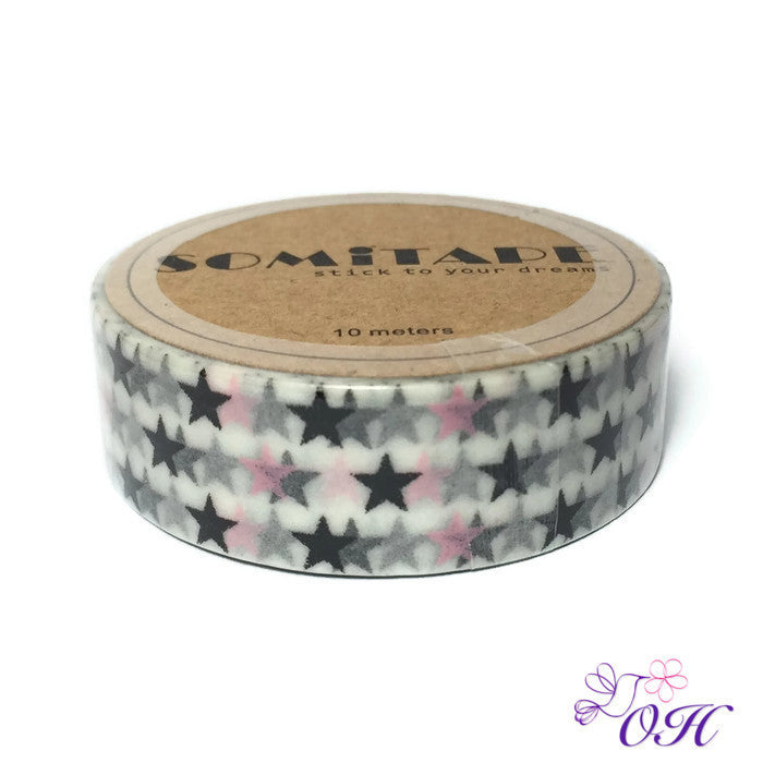 Somitape Stars Washi Tape - Washi Tape - Somitape - Orchids and Hummingbirds Designs, LLC