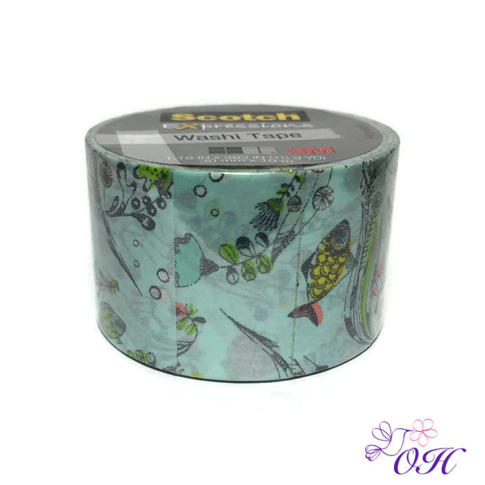 Scotch Adventure Washi Tape - Washi Tape - Scotch - Orchids and Hummingbirds Designs, LLC