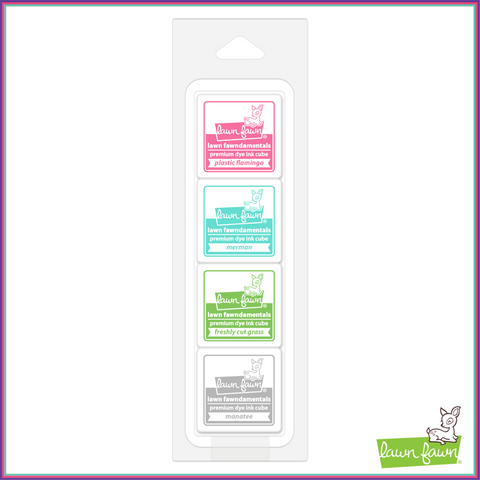 Lawn Fawn Gazebo Ink Cube Pack - Lawn Fawn - Orchids and Hummingbirds Designs, LLC