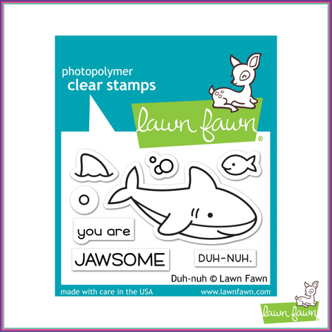 Lawn Fawn Duh-Nuh Stamp Set - Stamps - Lawn Fawn - Orchids and Hummingbirds Designs, LLC