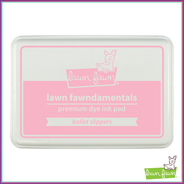 Lawn Fawn Ballet Slippers Ink Pad - Stamping Supplies - Lawn Fawn - Orchids and Hummingbirds Designs, LLC