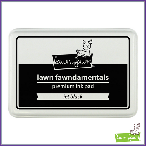 Lawn Fawn Jet Black Dye Ink Pad - Lawn Fawn - Orchids and Hummingbirds Designs, LLC