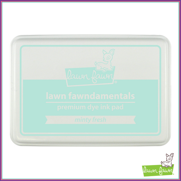 Lawn Fawn Minty Fresh Ink Pad - Stamping Supplies - Lawn Fawn - Orchids and Hummingbirds Designs, LLC