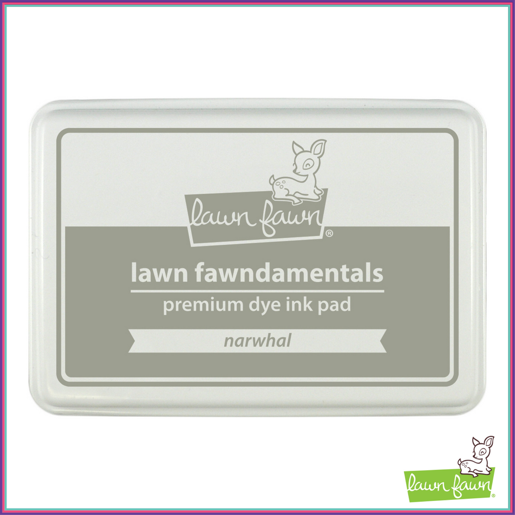Lawn Fawn Narwhal Dye Ink Pad - Stamping Supplies - Lawn Fawn - Orchids and Hummingbirds Designs, LLC