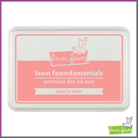 Lawn Fawn Peachy Keen Ink Pad - Lawn Fawn - Orchids and Hummingbirds Designs, LLC