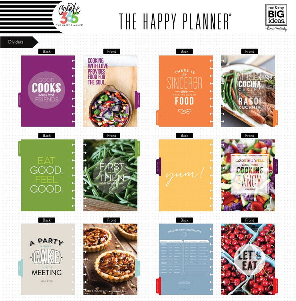 Create 365® - Happy Planner® Box Kit – CLASSIC – Cooking - Planners - Me & My Big Ideas (MAMBI) - Orchids and Hummingbirds Designs, LLC