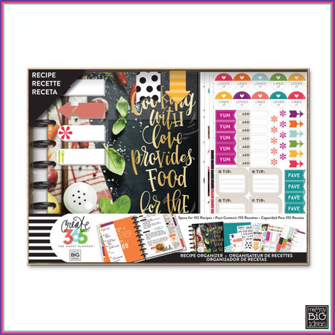 Create 365 - Happy Planner® Box Kit – CLASSIC – Cooking - Planners - Me & My Big Ideas (MAMBI) - Orchids and Hummingbirds Designs, LLC