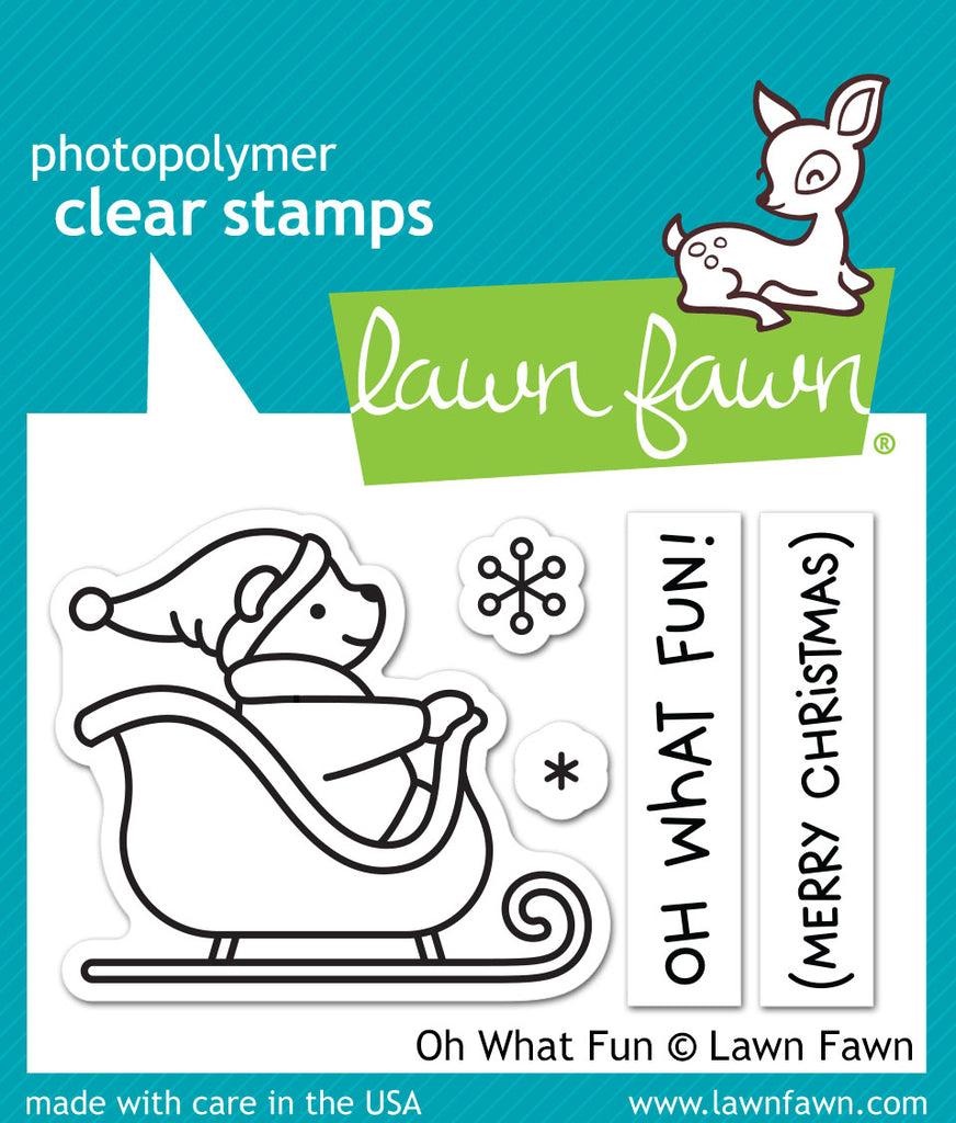 Lawn Fawn oh what fun - Stamps - Lawn Fawn - Orchids and Hummingbirds Designs, LLC