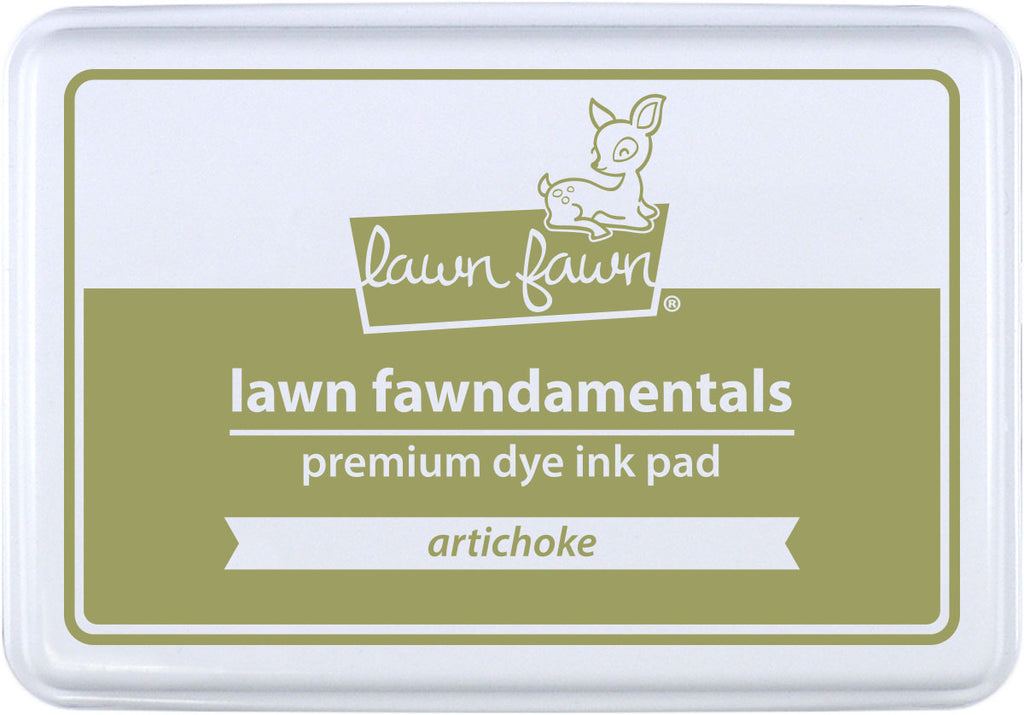 Lawn Fawn artichoke ink pad - Stamping Supplies - Lawn Fawn - Orchids and Hummingbirds Designs, LLC