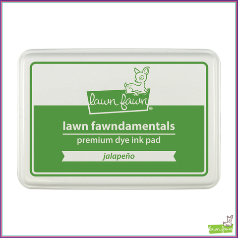 Lawn Fawn Jalapeño Dye Ink Pad - Stamping Supplies - Lawn Fawn - Orchids and Hummingbirds Designs, LLC