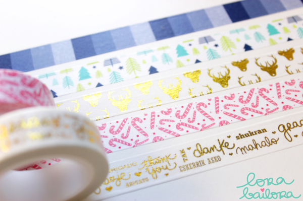 Lora Bailora Candy Washi Tape - Washi Tape - Lora Bailora - Orchids and Hummingbirds Designs, LLC