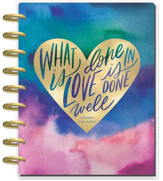 Create 365® - The Happy Planner® - 2019 CLASSIC Happy Planner® - Watercolor Abstract (Hourly) - Planners - Me & My Big Ideas (MAMBI) - Orchids and Hummingbirds Designs, LLC