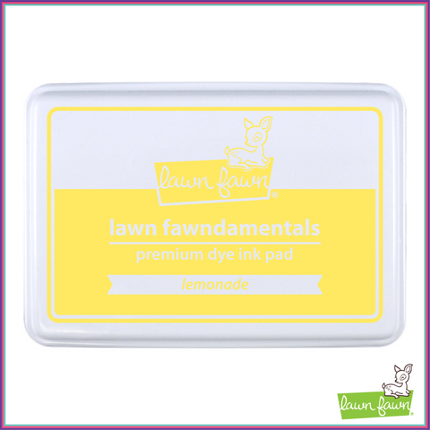 Lawn Fawn Lemonade Ink Pad - Stamping Supplies - Lawn Fawn - Orchids and Hummingbirds Designs, LLC