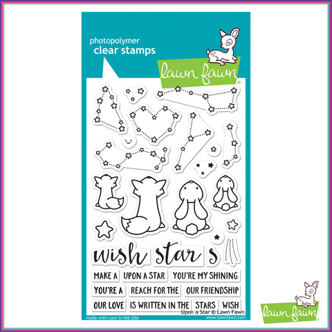 Lawn Fawn Upon a Star Stamp Set - Stamps - Lawn Fawn - Orchids and Hummingbirds Designs, LLC  - 1