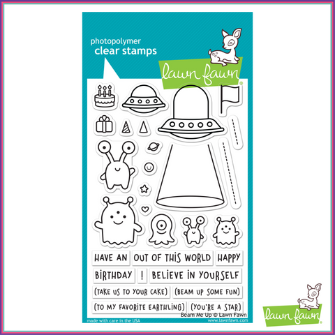 Lawn Fawn Beam Me Up Stamp Set - Stamps - Lawn Fawn - Orchids and Hummingbirds Designs, LLC
