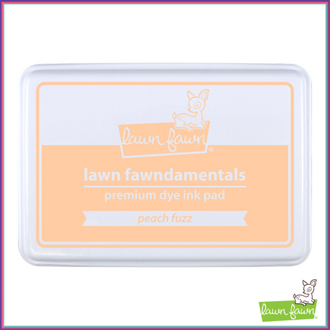 Lawn Fawn Peach Fuzz Ink Pad - Stamping Supplies - Lawn Fawn - Orchids and Hummingbirds Designs, LLC