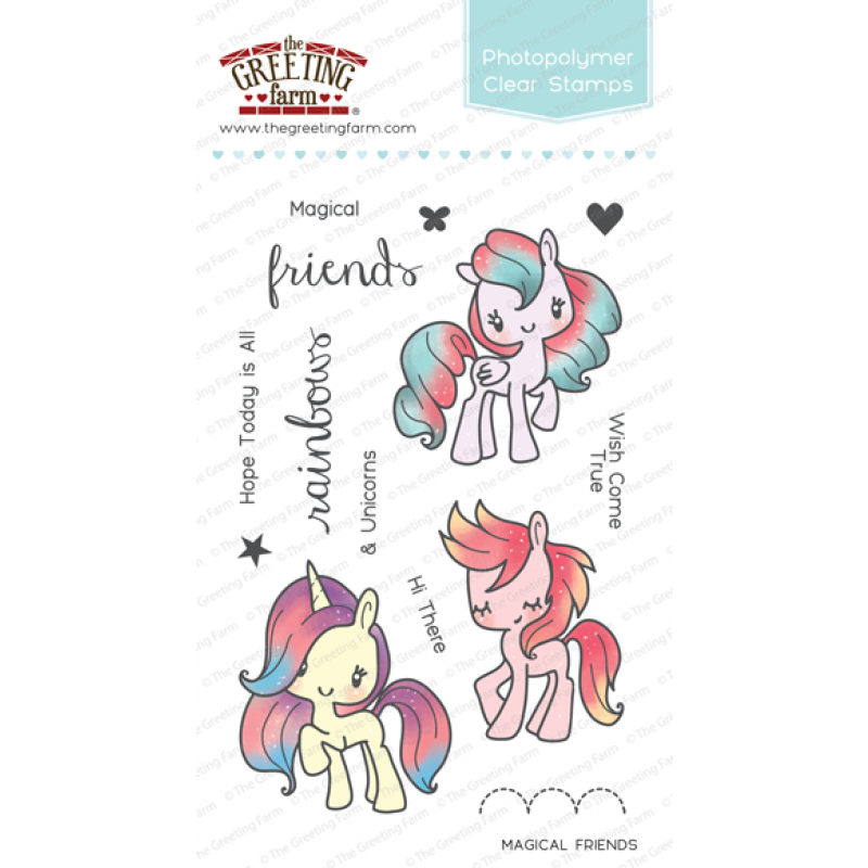 The greeting farm magical friends stamp set orchids and the greeting farm magical friends stamp set stamps the greeting farm orchids and m4hsunfo