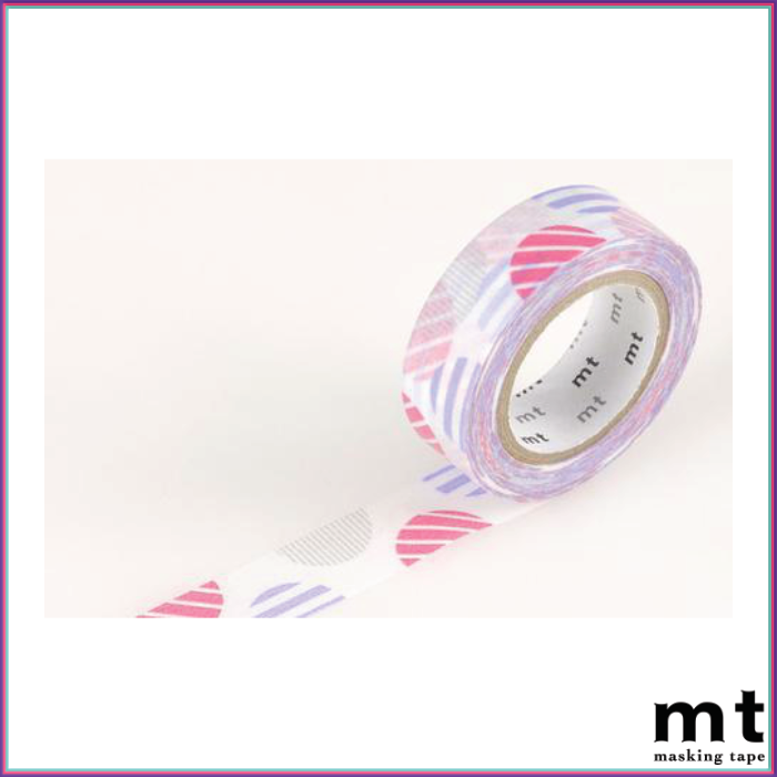 mt Arch Pink Washi Tape - Washi Tape - mt - Orchids and Hummingbirds Designs, LLC