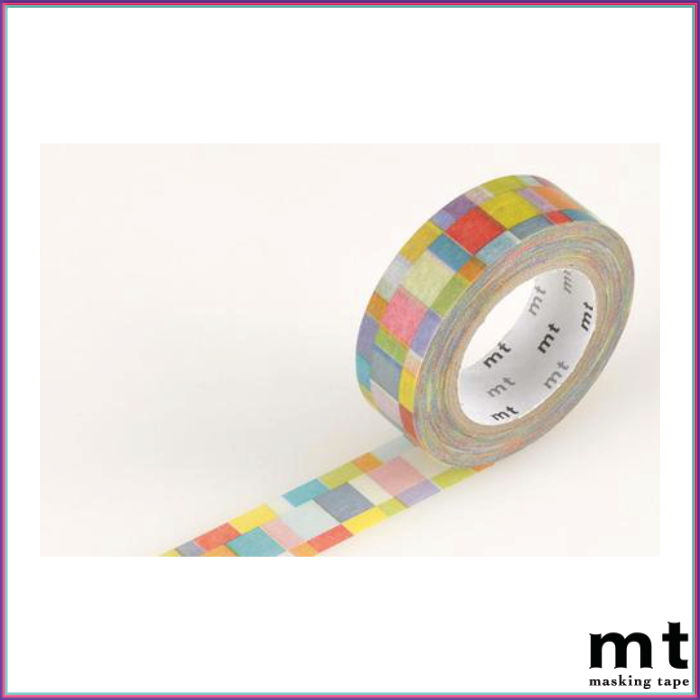 mt Mosaic Bright Washi Tape - Washi Tape - mt - Orchids and Hummingbirds Designs, LLC
