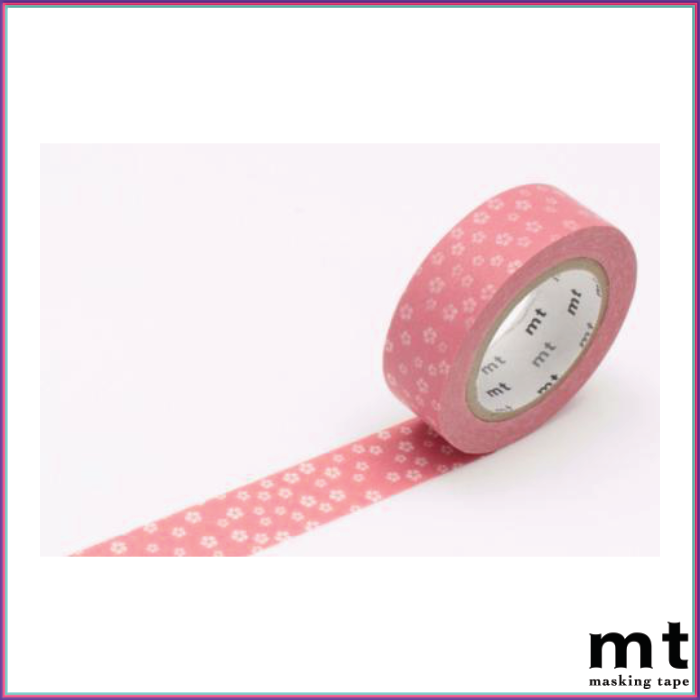 mt Plum Blossom Nejiriume Haru - Spring Pink Washi Tape - Washi Tape - mt - Orchids and Hummingbirds Designs, LLC
