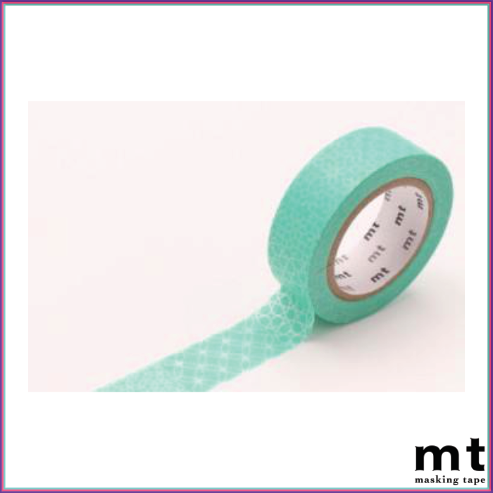 mt Line Patten Green Washi Tape - Washi Tape - mt - Orchids and Hummingbirds Designs, LLC