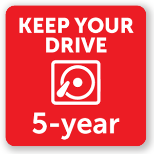 Five Year Extended with Drive Retention (first 90 days only)